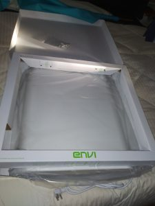 Envi Heater Wall Mounting Template