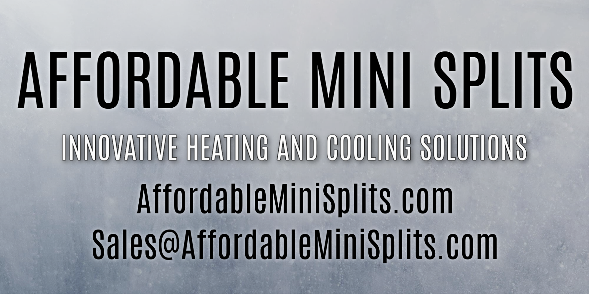 AFFORDABLE MINI SPLITS